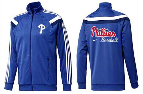 MLB Philadelphia Phillies Zip Jacket Blue