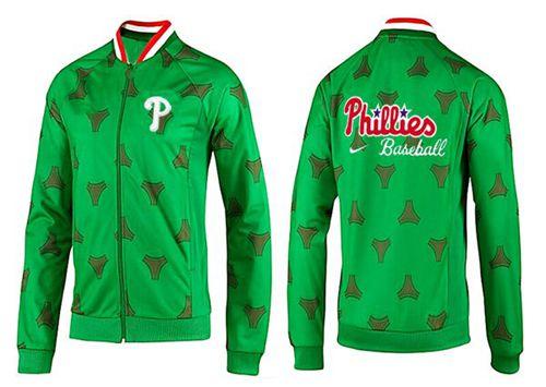 MLB Philadelphia Phillies Zip Jacket Green_1