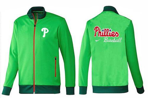 MLB Philadelphia Phillies Zip Jacket Green_2