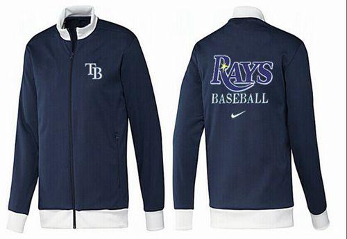 MLB Tampa Bay Rays Zip Jacket Dark Blue