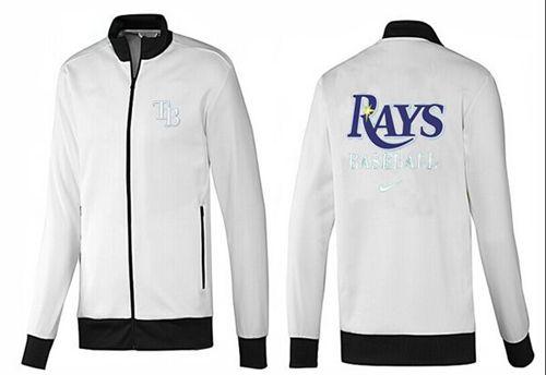 MLB Tampa Bay Rays Zip Jacket White_1