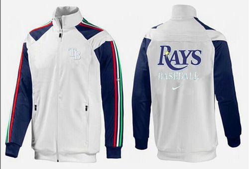 MLB Tampa Bay Rays Zip Jacket White_2