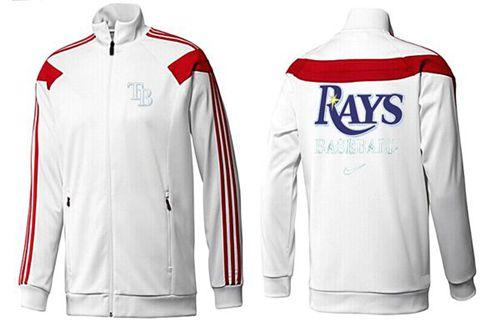 MLB Tampa Bay Rays Zip Jacket White_3