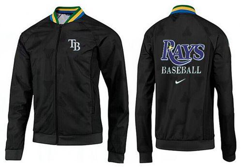 MLB Tampa Bay Rays Zip Jacket Black