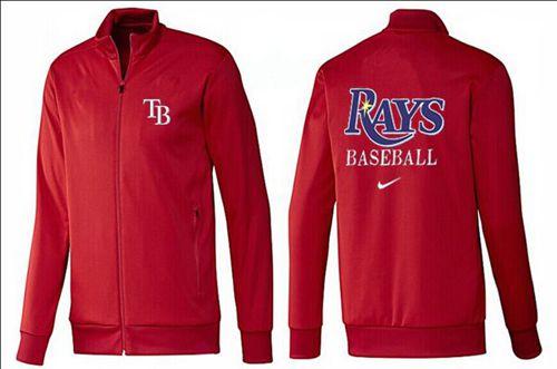 MLB Tampa Bay Rays Zip Jacket Red