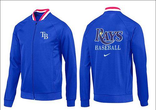 MLB Tampa Bay Rays Zip Jacket Blue_3