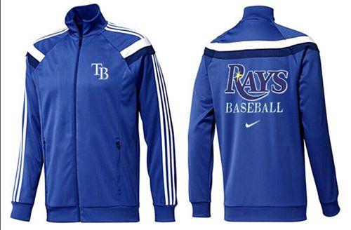 MLB Tampa Bay Rays Zip Jacket Blue_2
