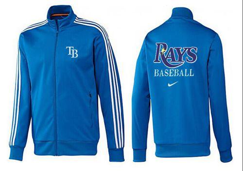 MLB Tampa Bay Rays Zip Jacket Blue_1