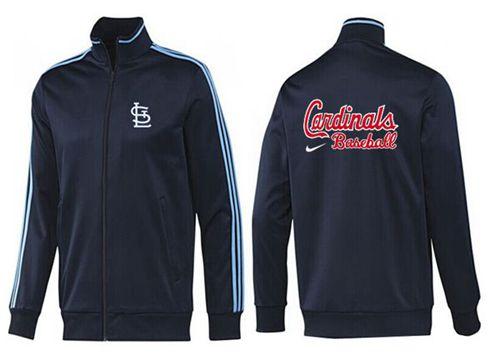 MLB St.Louis Cardinals Zip Jacket Dark Blue