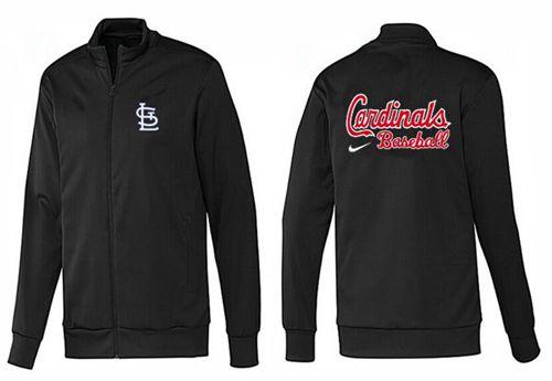 MLB St.Louis Cardinals Zip Jacket Black_1