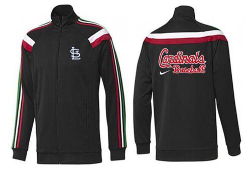 MLB St.Louis Cardinals Zip Jacket Black_2