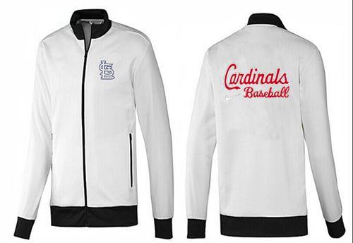MLB St.Louis Cardinals Zip Jacket White_1