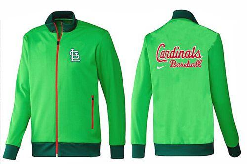MLB St.Louis Cardinals Zip Jacket Green