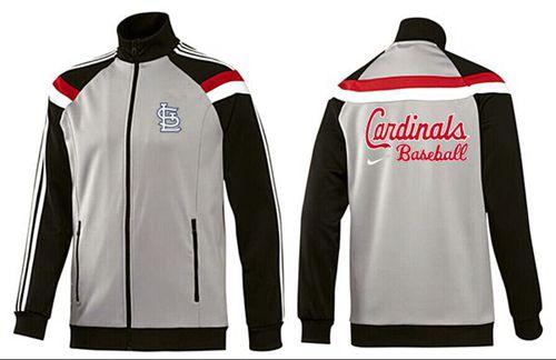 MLB St.Louis Cardinals Zip Jacket Grey