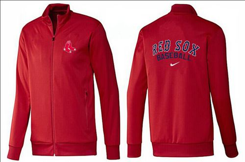 MLB Boston Red Sox Zip Jacket Red