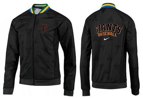 MLB San Francisco Giants Zip Jacket Black_1