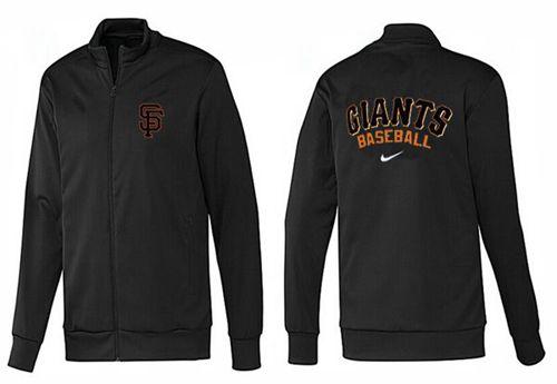 MLB San Francisco Giants Zip Jacket Black_2