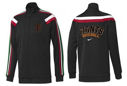 MLB San Francisco Giants Zip Jacket Black_3