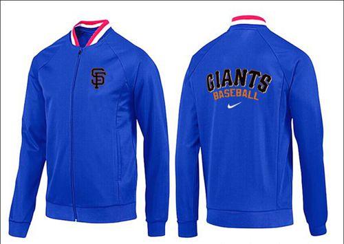 MLB San Francisco Giants Zip Jacket Blue_1