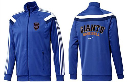 MLB San Francisco Giants Zip Jacket Blue_2