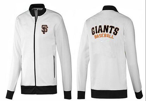 MLB San Francisco Giants Zip Jacket White_1