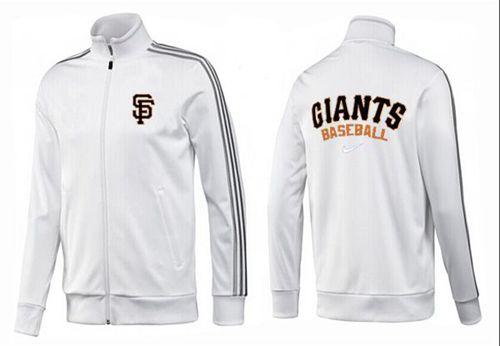 MLB San Francisco Giants Zip Jacket White_2