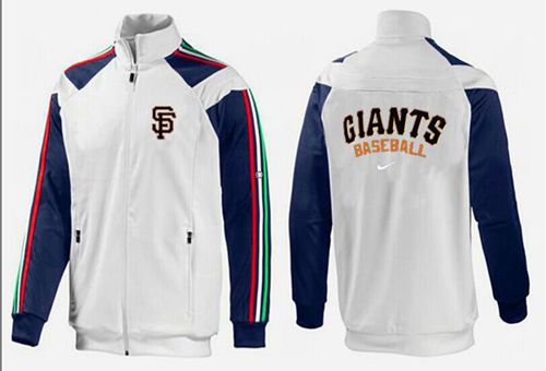 MLB San Francisco Giants Zip Jacket White_3