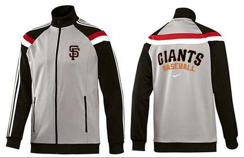 MLB San Francisco Giants Zip Jacket Grey
