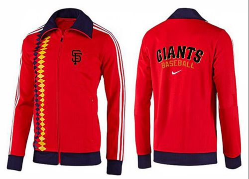 MLB San Francisco Giants Zip Jacket Orange