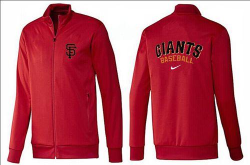 MLB San Francisco Giants Zip Jacket Red