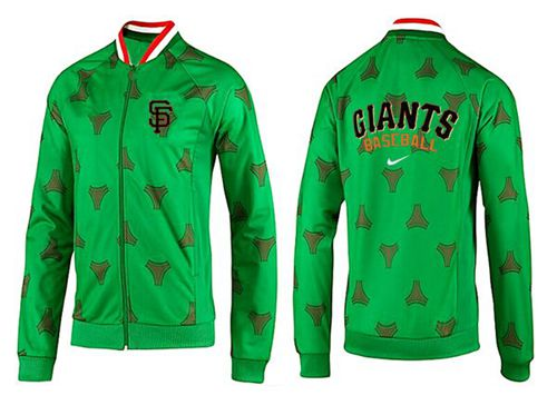 MLB San Francisco Giants Zip Jacket Green