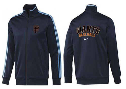 MLB San Francisco Giants Zip Jacket Dark Blue