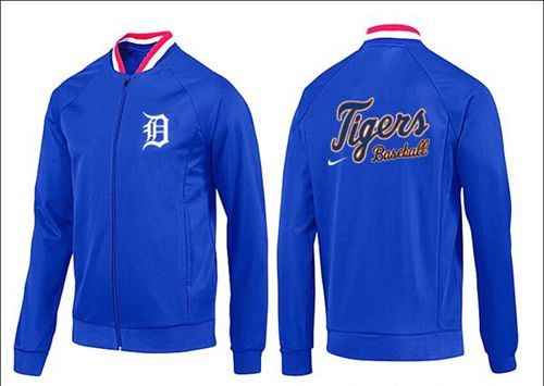 MLB Detroit Tigers Zip Jacket Blue_1