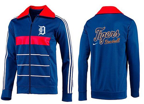 MLB Detroit Tigers Zip Jacket Blue_2