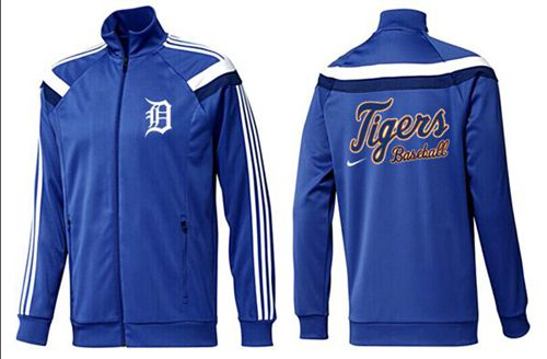 MLB Detroit Tigers Zip Jacket Blue_3