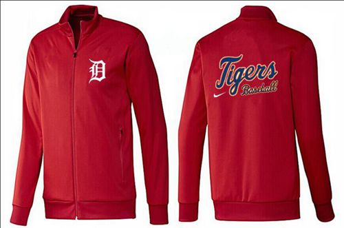 MLB Detroit Tigers Zip Jacket Red