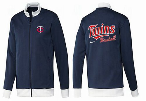 MLB Minnesota Twins Zip Jacket Dark Blue