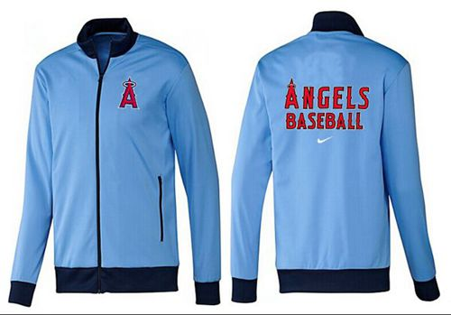MLB Los Angeles Angels Zip Jacket Light Blue