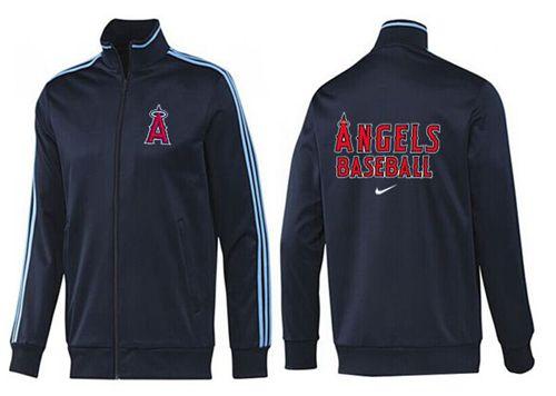 MLB Los Angeles Angels Zip Jacket Dark Blue