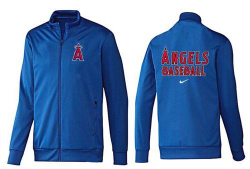 MLB Los Angeles Angels Zip Jacket Blue_1
