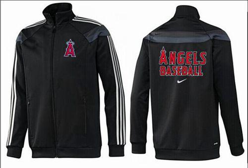 MLB Los Angeles Angels Zip Jacket Black_2