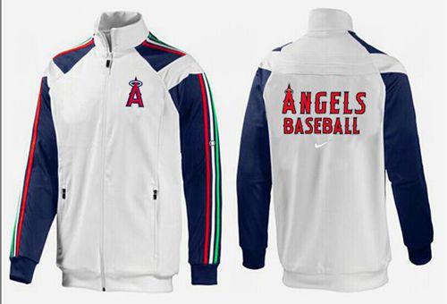 MLB Los Angeles Angels Zip Jacket White_1