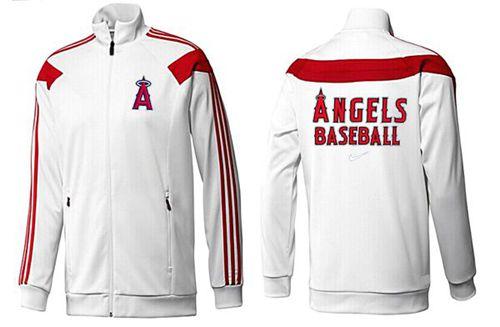MLB Los Angeles Angels Zip Jacket White_2