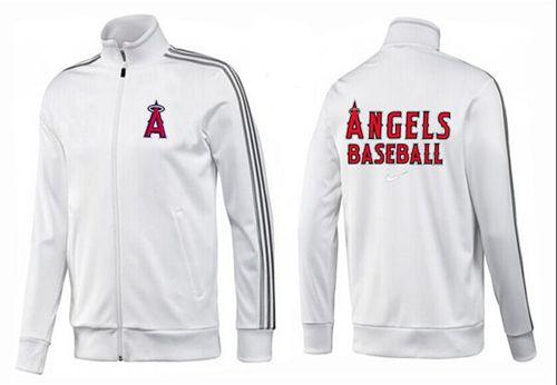 MLB Los Angeles Angels Zip Jacket White_3