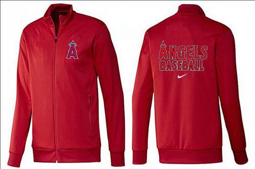 MLB Los Angeles Angels Zip Jacket Red