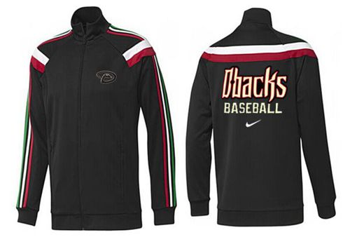 MLB Arizona Diamondbacks Zip Jacket Black_1