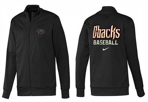 MLB Arizona Diamondbacks Zip Jacket Black_3