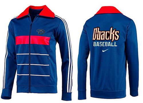 MLB Arizona Diamondbacks Zip Jacket Blue_1