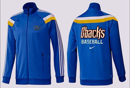 MLB Arizona Diamondbacks Zip Jacket Blue_2