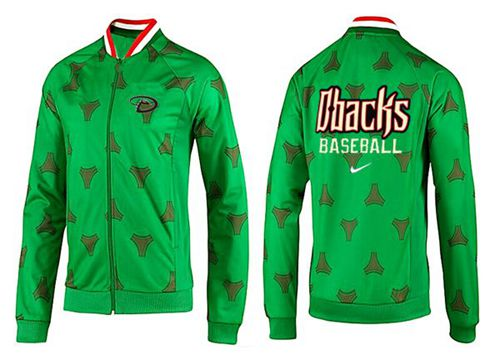 MLB Arizona Diamondbacks Zip Jacket Green